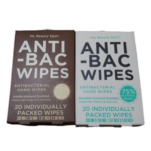 My Beauty Spot antibacterial individual wrap wipes